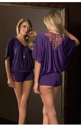 Boho Nightset Shorts