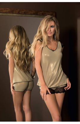Goldie Nightset Top